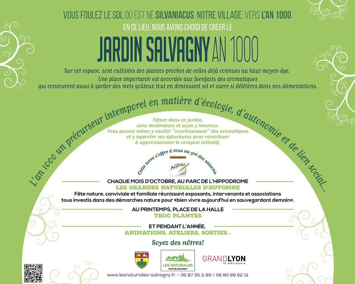 Jardin Salvagny An 1000