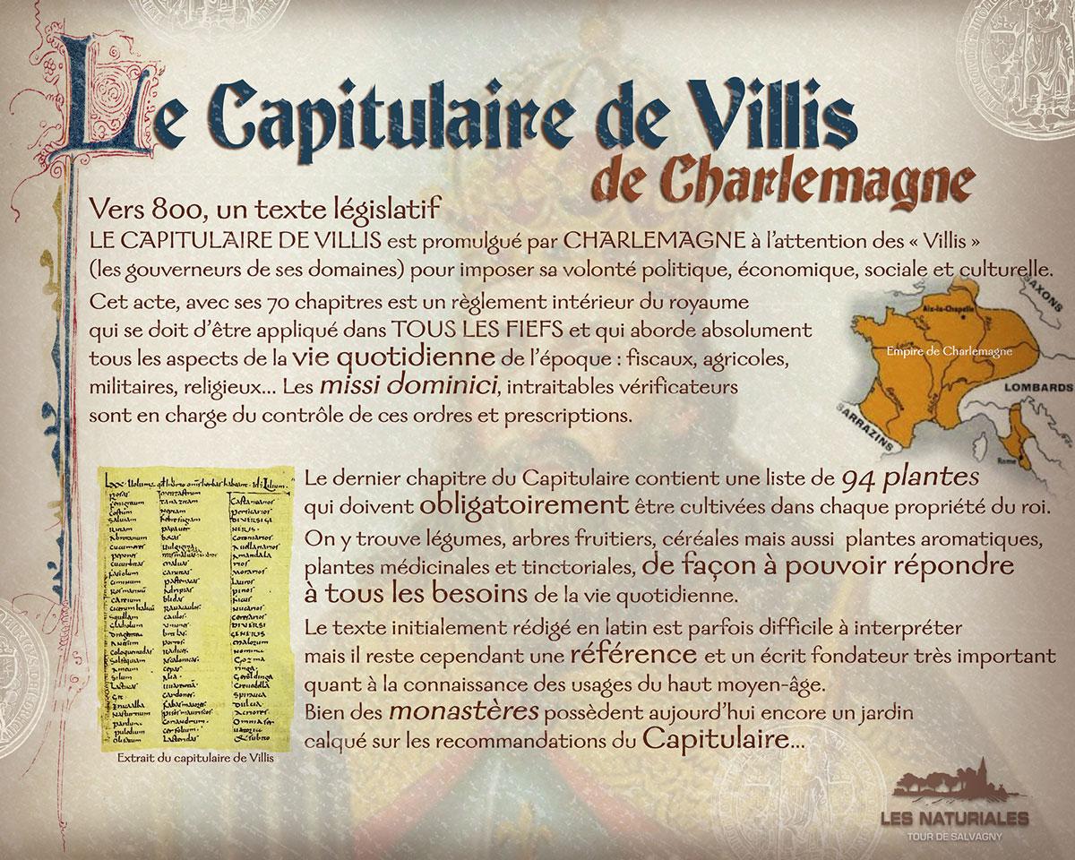 capitulaire de villis charlemagne