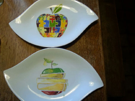 Pomme porcelaine